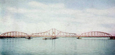 Duluth & Superior Bridge, 1906