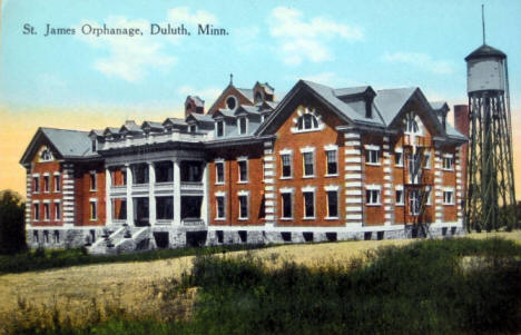 St. James Orphanage, Duluth Minnesota, 1910's