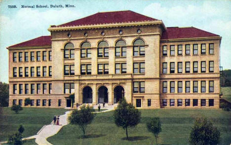 Normal School, Duluth Minnesota, 1920's