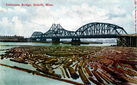 Interstate Bridge, Duluth Minnesota, 1906