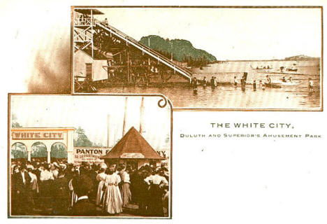 The White City, Duluth and Superior's Amusement Park, 1900's