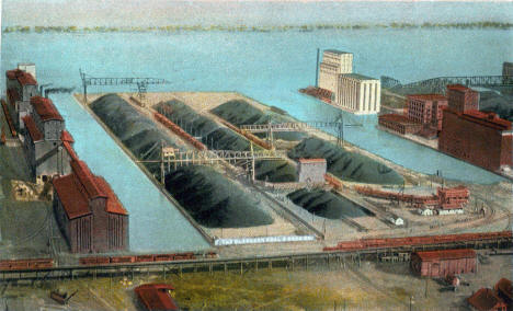 Clarkson Coal and Dock Company, Duluth Minnesota, 1925