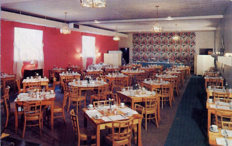The Plaza Tea Room, 1215 E Superior Street, Duluth Minnesota, 1950's?