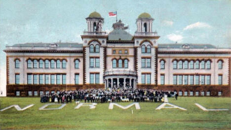 Normal School, Duluth Minnesota, 1907