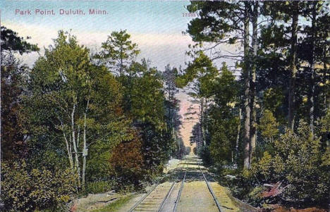 Park Point, Duluth Minnesota, 1909