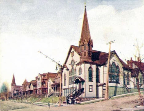 Norwegian Lutheran Church, Duluth Minnesota, 1913