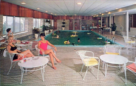 Swimming Pool, Edgewater Motel, Duluth Minnesota, 1967