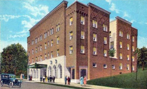 Hotel Lincoln, Duluth Minnesota, 1920's