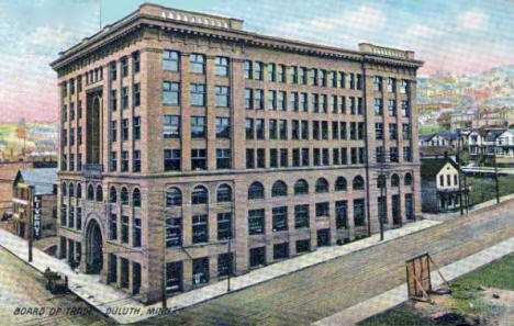 Board of Trade, Duluth Minnesota, 1907
