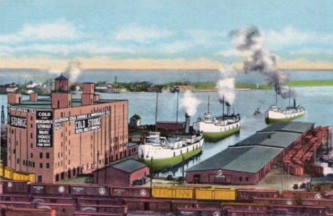 Northern Cold Storage & Warehouse Company, Duluth Minnesota, 1910's