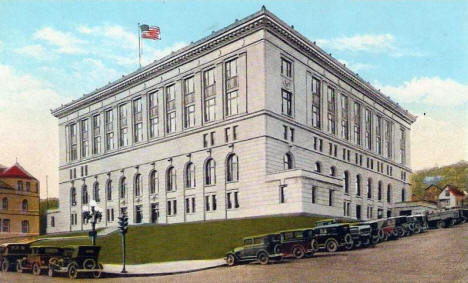 City Hall, Duluth Minnesota, 1920's
