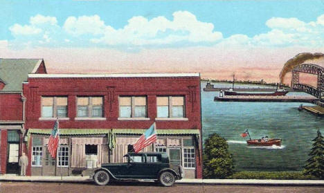 Lake View Tea and Dining Room, 728 E Superior Street, Duluth Minnesota, 1930's