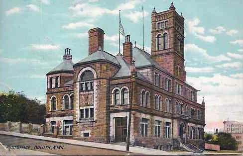 Post Office, Duluth Minnesota, 1911