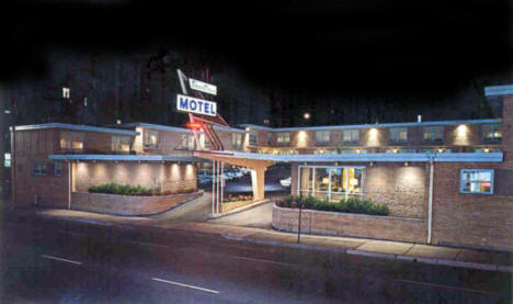 Downtowner Motel, Duluth Minnesota, 1960's