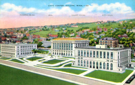 Civic Center, Duluth Minnesota, 1930's