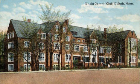 Kitchi Gammi Club, Duluth Minnesota, 1909