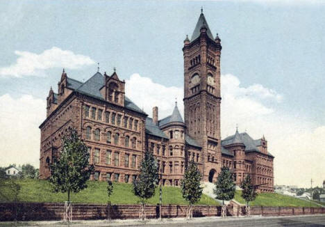 High School, Duluth Minnesota, 1902