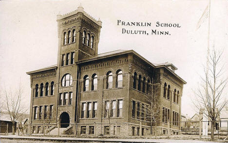 Franklin School, Duluth Minnesota, 1910's