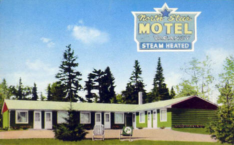 North Star Motel, Duluth Minnesota, 1960's?