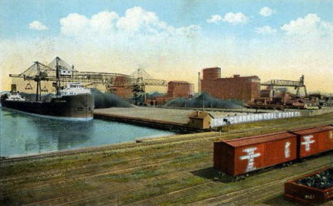 Clarkson Coal and Dock Company, Duluth Minnesota, 1924