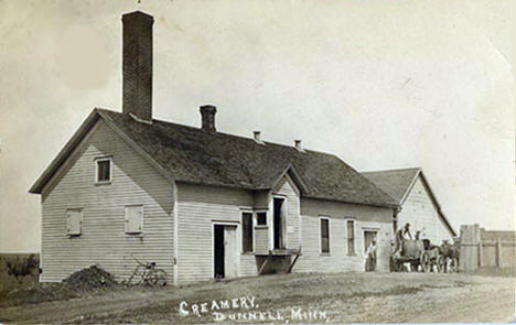 Creamery in Dunnell Minnesota, 1910's?