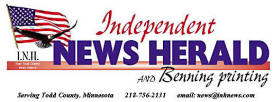 Independent News Herald, Eagle Bend Minnesota