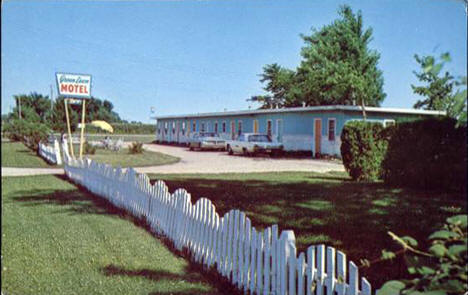 Green Lawn Motel, Eagle Lake Minnesota, 1960's?