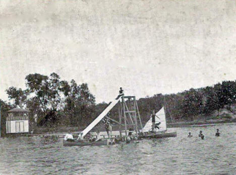 The Island, Eagle Lake Minnesota, 1907