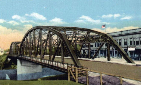 A.G. Sorlie Memorial Bridge, East Grand Forks Minnesota, 1920's