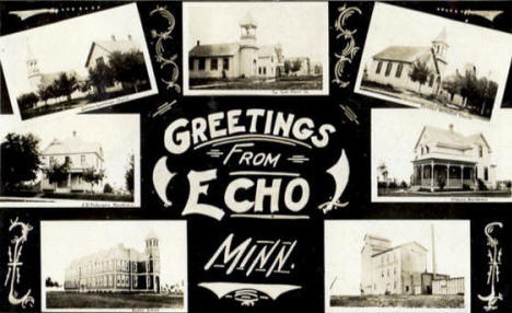 Greetings From Echo Minnesota, 1908