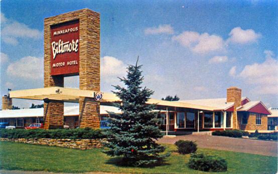 Biltmore Motel Edina Minnesota 1960 S