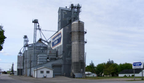 Grain elevators, Elgin Minnesota, 2010