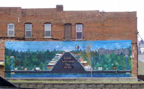 Mural, Elgin Minnesota, 2010