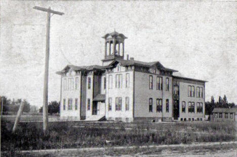 High School, Elk River Minnesota, 1890's