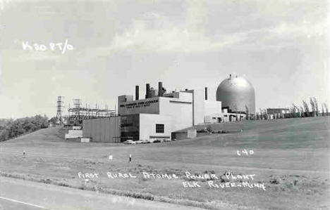First Rural Atomic Power Plant, Elk River Minnesota, 1960