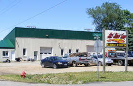 Al's Body Shop, Ellendale Minnesota