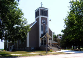 St. Mary of the Prairie Church, Ellsworth Minnesota