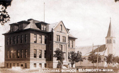 Parochial School, Ellsworth Minnesota, 1908