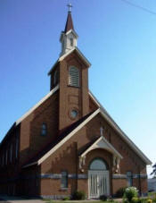 St. Edward Catholic Church, Elmdale Minnesota