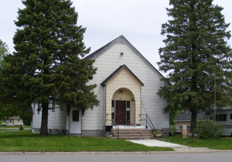 Former church, Elmore Minnesota, 2014