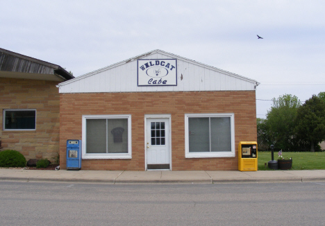Wildcat Cafe, Elmore Minnesota, 2014