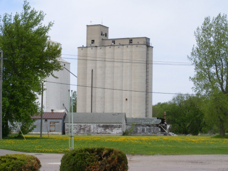 Grain elevators, Elmore Minnesota, 2014