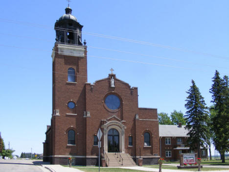 Sts. Peter and Paul Catholic Church, Elrosa Minnesota, 2009