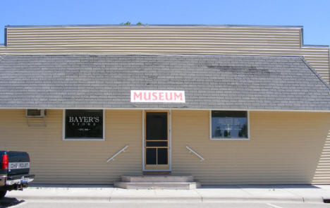 Museum in old Bayer's Store, Elrosa Minnesota, 2009