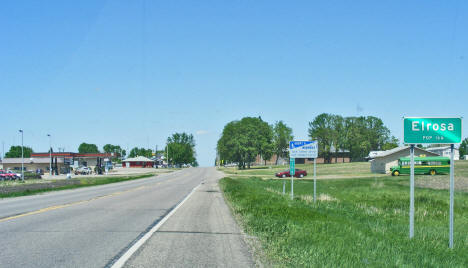 Entering Elrosa Minnesota, 2009
