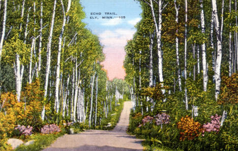 Echo Trail, Ely Minnesota, 1920's
