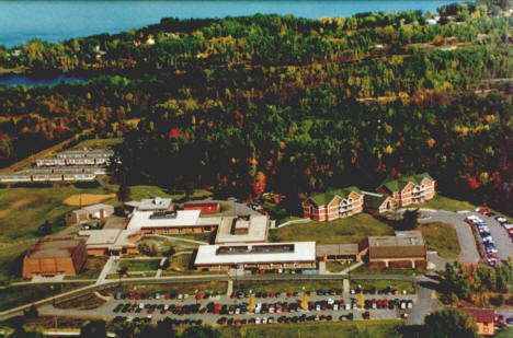 Aerial view, Vermilion Community College, Ely Minnesota, 2006