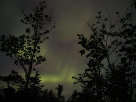 Northern Lights outside of Ely Minnesota, 2003