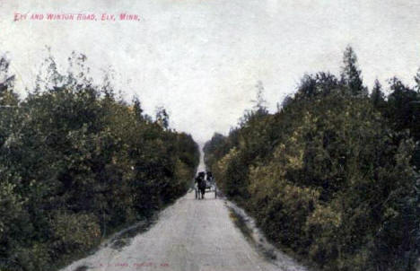 Ely and Winton Road, 1908