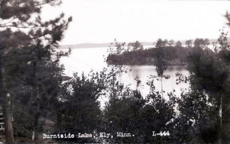 Burntside Lake, Ely Minnesota, 1931